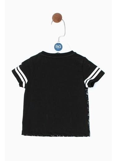 BG Baby Erkek Bebek Siyah T-Shirt 19SS0BG1538 Siyah